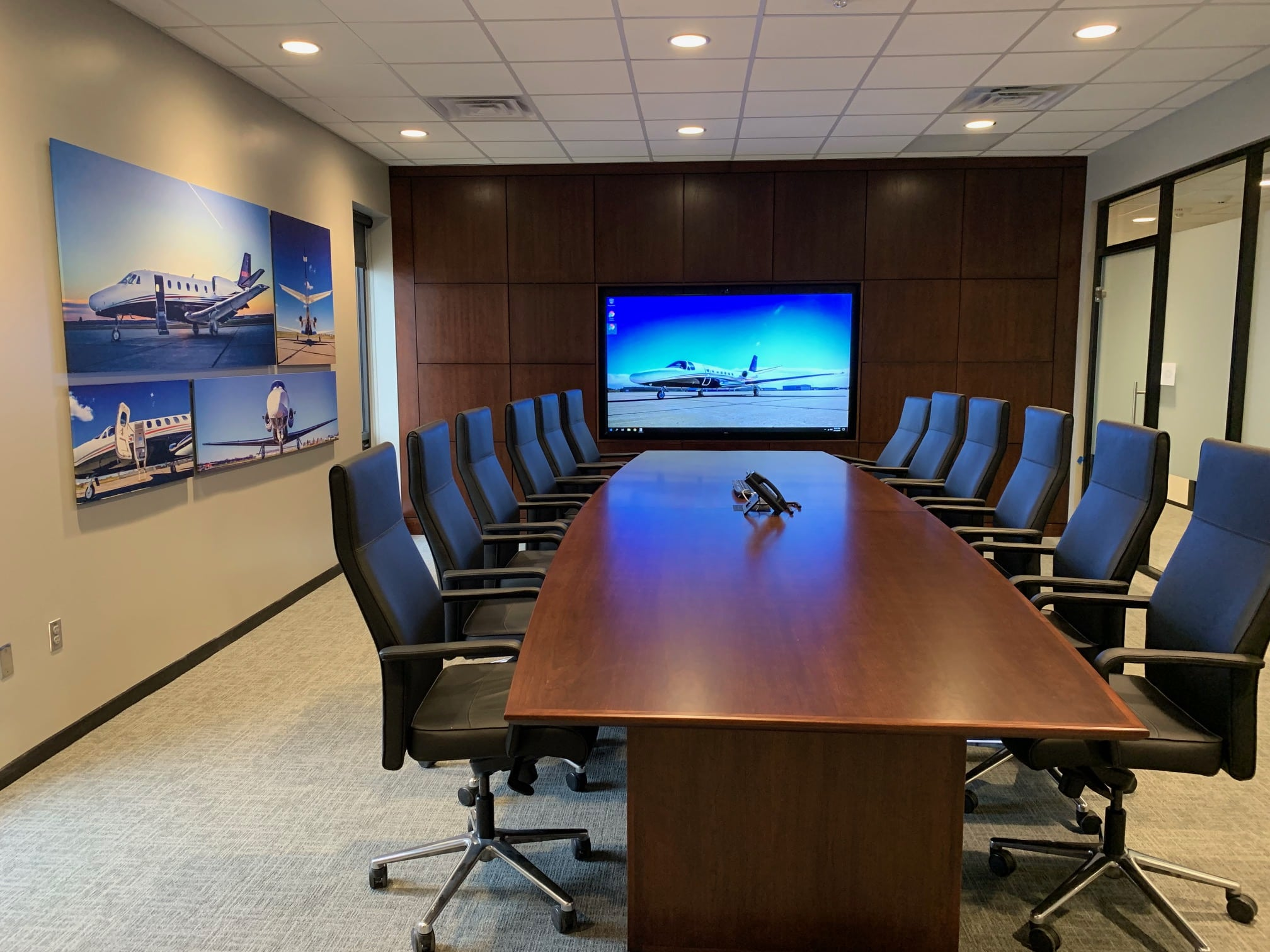 Ross Lincoln meeting room