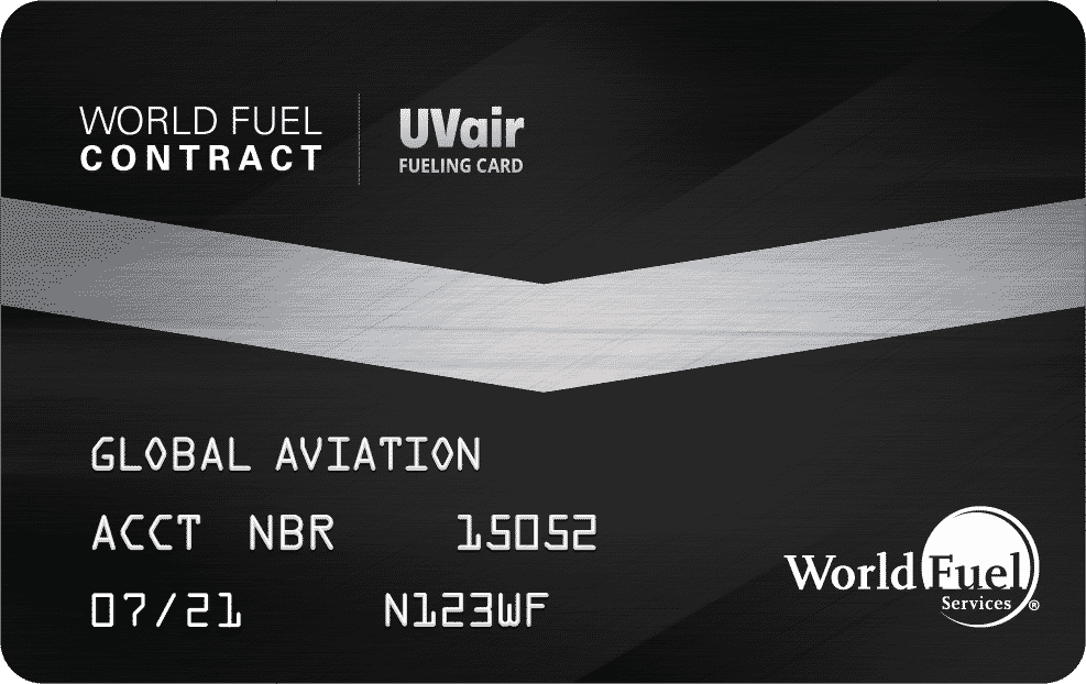 World Fuel | UVair Contract Card